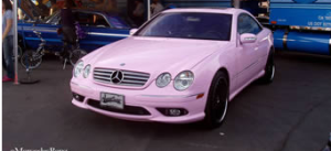 Mary Kay Pink Mercedes