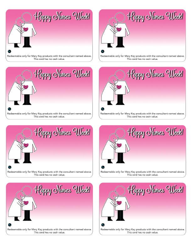 Mary Kay Nurses Week Gift Cards Qt Office Blog Free Mary Kay